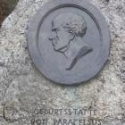 2.12.: Paracelsus-Stein, bei der Teufelsbrücke beim Etzel