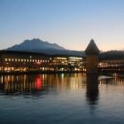 12.12.: Abendstimmung Luzern