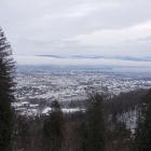 16.12.: Uetlibergblick mit leichtem Schneeeindruck