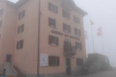 Gotthard im Nebel