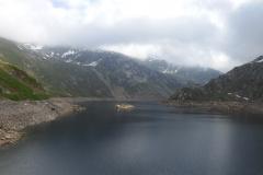 Von der Staumauer Lago della Sella