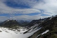 Panorama vom Bornengo-Pass Richtung Maighels-Tal