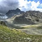 12.8.: Panorama von der Keschhütte aus