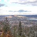 19.11.: Blick über die Stadt Zürich vom Uetliberg aus