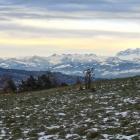 13.12.: Abendpanorama vom oberen Friesenberg aus