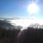 1.1: Teil-Panorama Uto-Kulm mit Nebelmeer