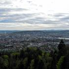 13.5.: Blick aus der Uetliberg-Ostwand