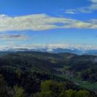13.5.: Alpenbogen von Uto Kulm aus