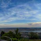29.5.: Panorama mit Abendhimmel