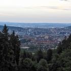 13.6.: Blick auf die Stadt Zürich