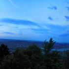 13.6.: Abendstimmungs-Panorama von Uto Kulm aus