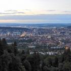 17.6.: Blick über die Stadt