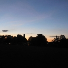 17.6.: Abendhimmel beim Triemli