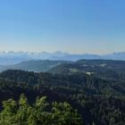 26.6.: Montag-Morgen-Panorama von Uto Kulm aus