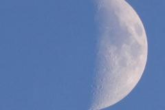 16.7.: zunehmender Mond