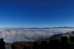 2.1.: Nebelmeerausblick Uto Kulm