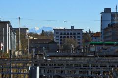 28.2.: Stadt und Berge – Bahnhof Wiedikon