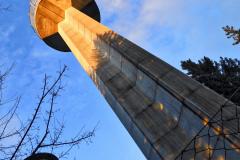 11.3.: Uetliberg-Fernsehturm im Abendlicht