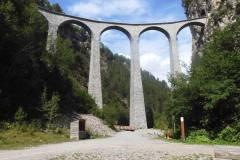 2.8.: RhB-Brücke bei Filisur