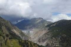 17.8.: Aletschgletscher von der Belalp aus