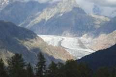 18.8.: Aletschgletscher zwischen Foggenhorn und Nessel