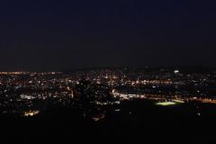 21.9.: Nachtlichter Zürich von der Föhrenegg aus