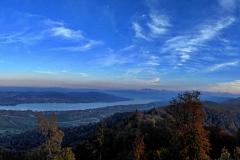 19.10.: Blick vom Uetliberg Richtung Zürichsee
