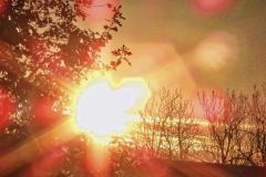 14.11.: Sonnenaufgang, Bearbeitungsfilter «künstlerisch»